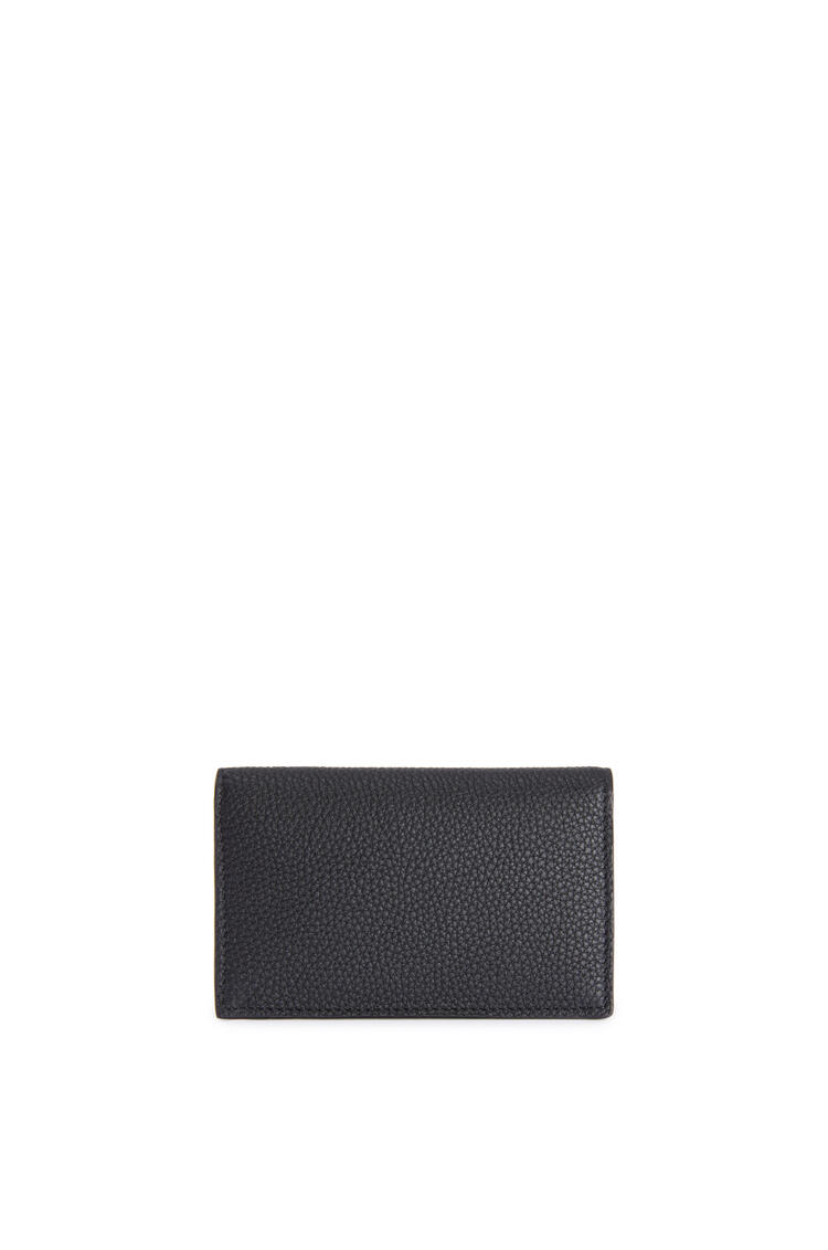 LOEWE Business cardholder in soft grained calfskin Black pdp_rd