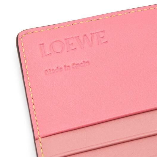 LOEWE Rainbow Continental Wallet Tan/Multicolor front