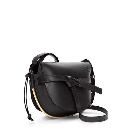 LOEWE Gate Frame Small Bag 黑色 front