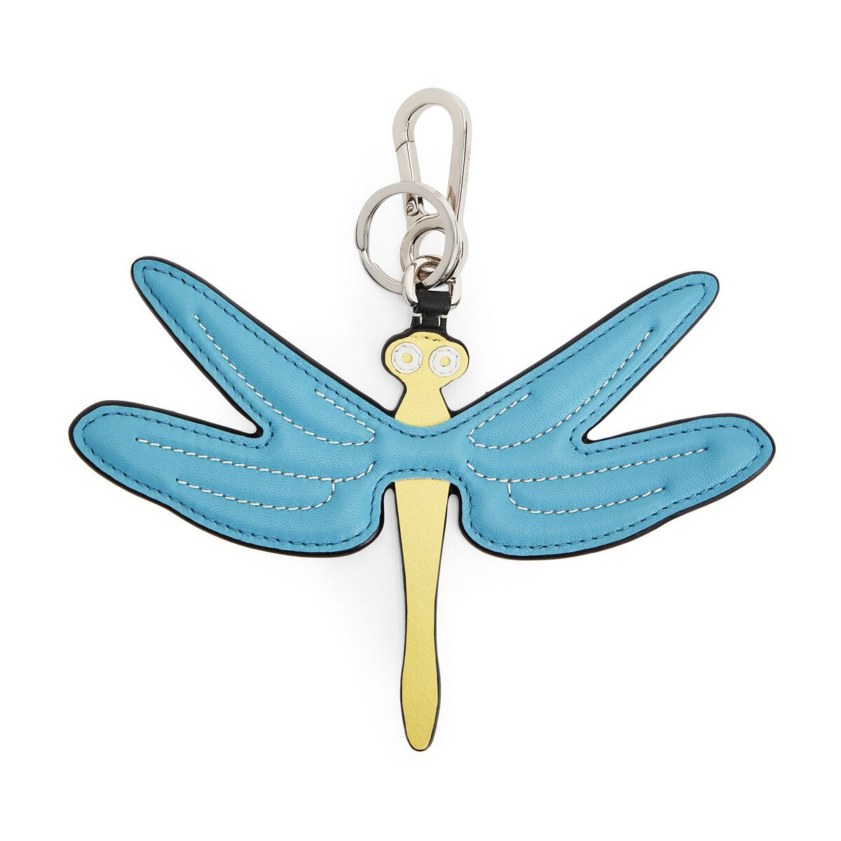 LOEWE Dragonfly Charm Blue/Yellow front