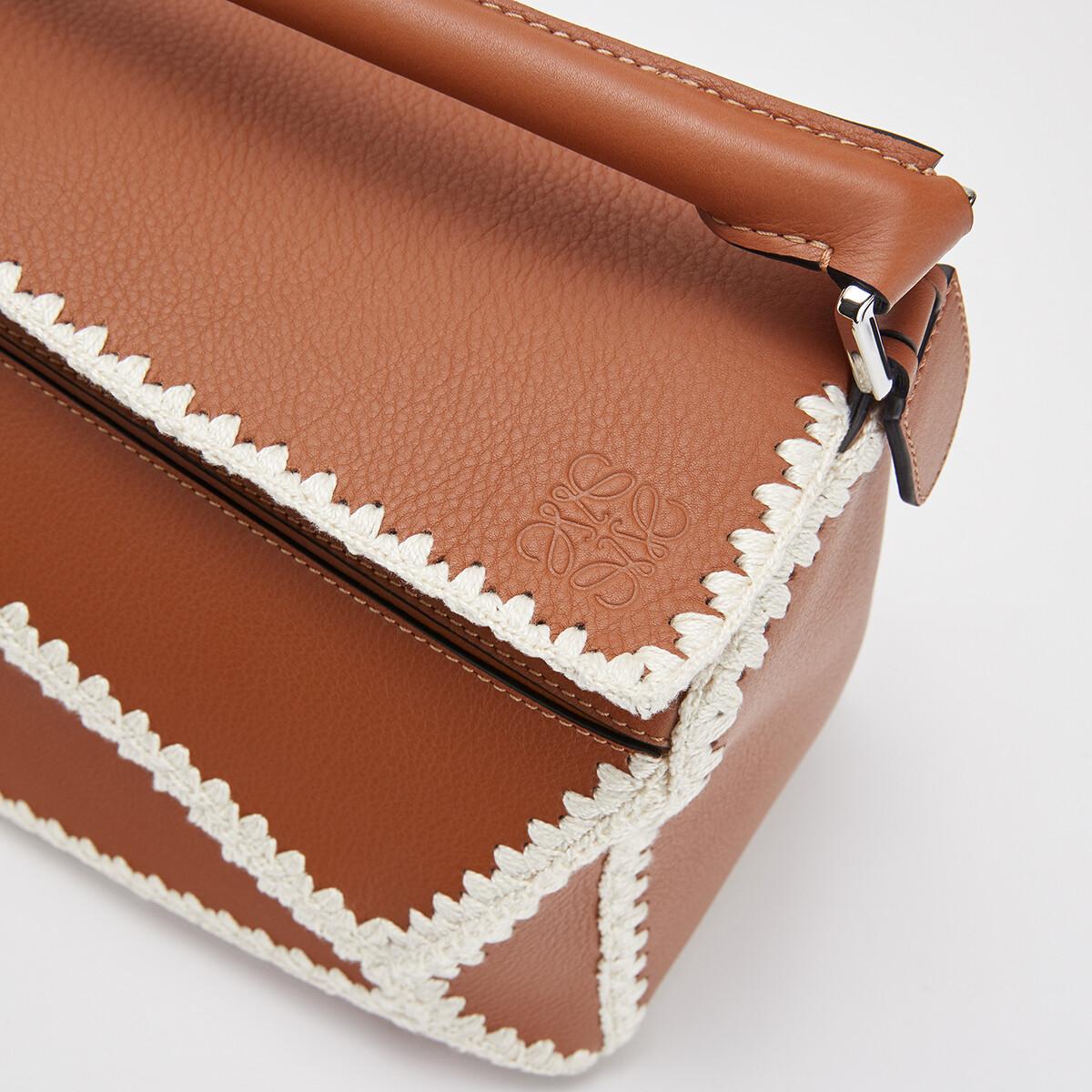Puzzle Crochet Bag