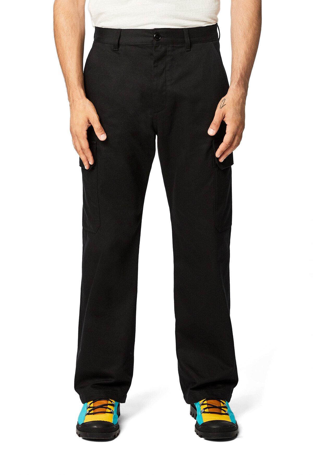 LOEWE Eln Trousers Black front