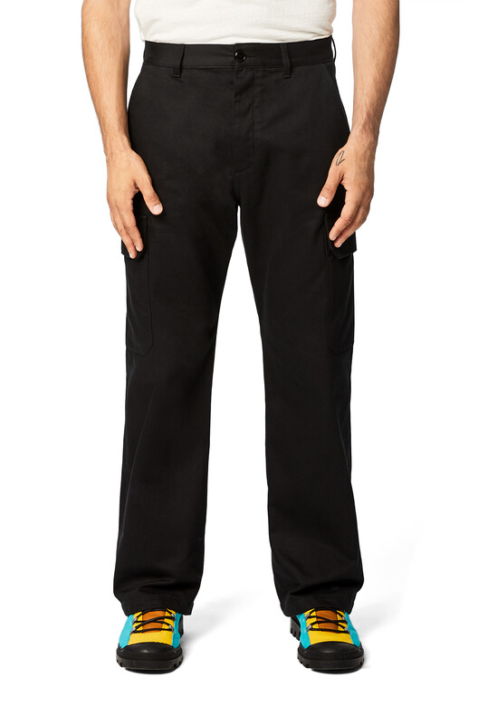 LOEWE Eln Trousers 黑色 front