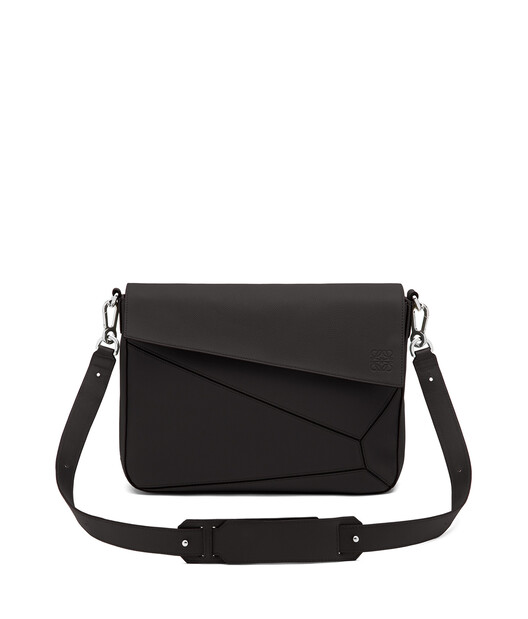 LOEWE Bolso Puzzle Messenger Negro front