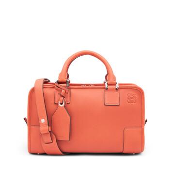 LOEWE Amazona 28 Bag Pink Tulip front