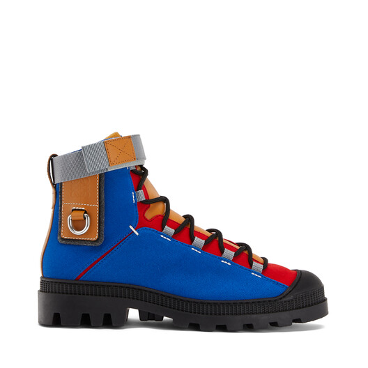 LOEWE Hiking Boot Eln Blue/Toffee front