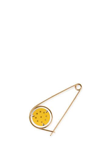 LOEWE Small Meccano Pin Yellow/Gold pdp_rd