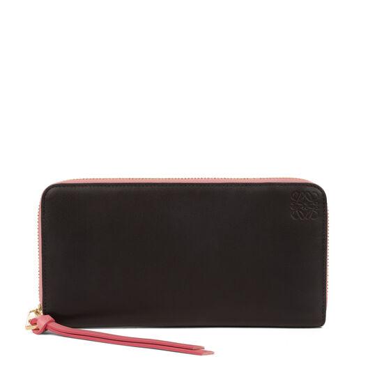 LOEWE Zip Around Wallet Black/Candy all