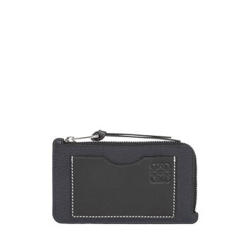 LOEWE Coin Cardholder Large Midnight Blue/Black front
