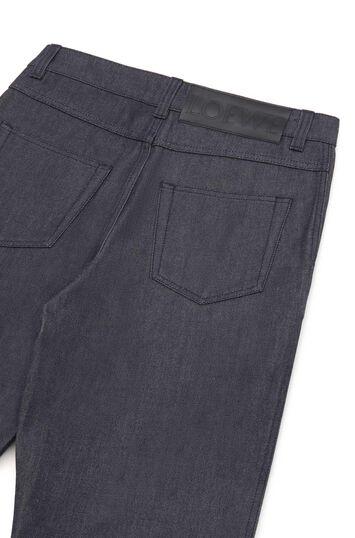LOEWE Pantalon Jean Fisherman Marino front