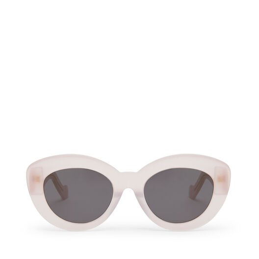 LOEWE Butterfly Sunglasses ピーチ front
