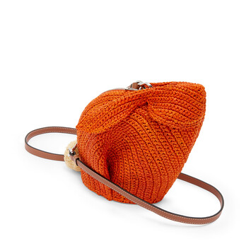 LOEWE Bunny Mini Bag Orange front