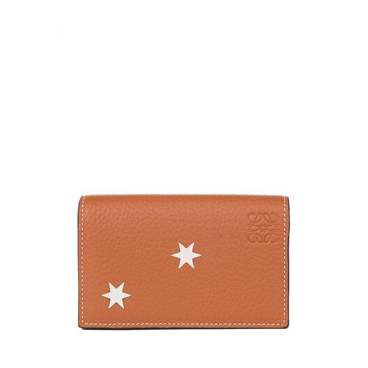 Business card holder khaki green loewe business card holder stars reheart Gallery