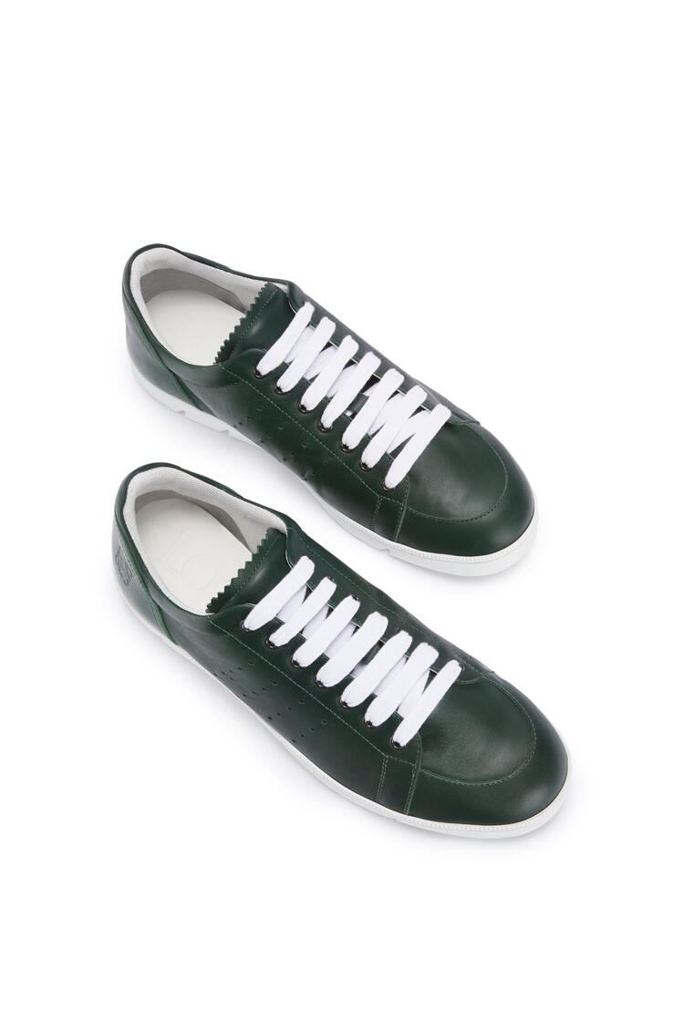 LOEWE Soft sneaker in calf Forest Green pdp_rd