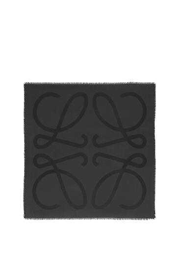 LOEWE 140X140 SCARF GIANT ANAGRAM Black pdp_rd