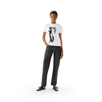 LOEWE Salome T-Shirt White front