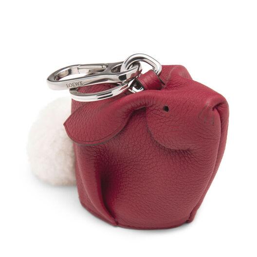 LOEWE Bunny Charm 覆盆莓色 front
