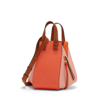 LOEWE Hammock Small Bag Blossom/Bright Peach front