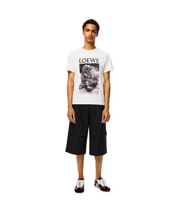 LOEWE Ken Heyman T- Shirt Blanco front