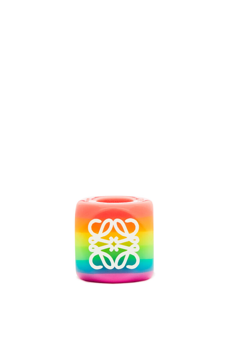 LOEWE Big Anagram dice in acrylic Multicolor pdp_rd