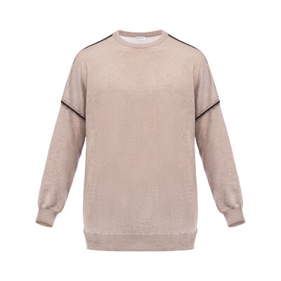 LOEWE Sweater Beige front
