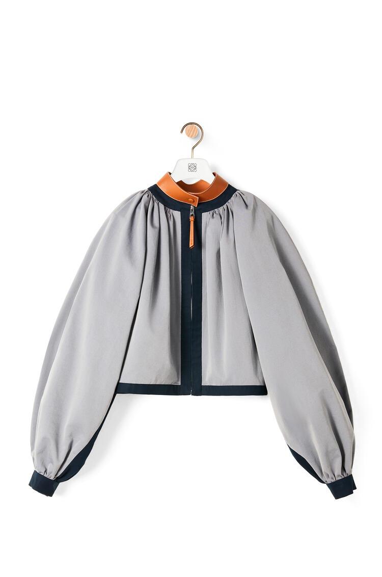 LOEWE バルーン ボンバー ジャケット (コットン&キュプラ) Iridescent Silver pdp_rd