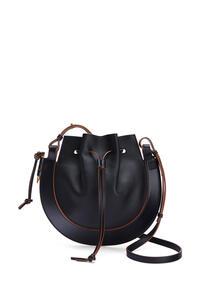 LOEWE Horseshoe bag in nappa calfskin Black pdp_rd