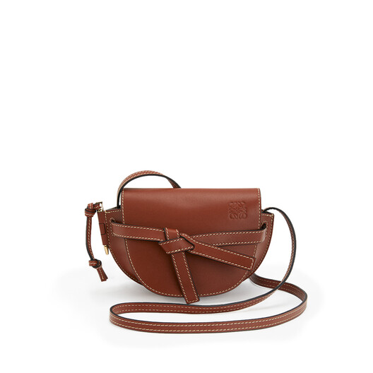 LOEWE Gate Mini Bag Rust Color front