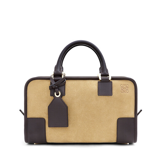 LOEWE Amazona 28 Bag 金色/深棕色 front