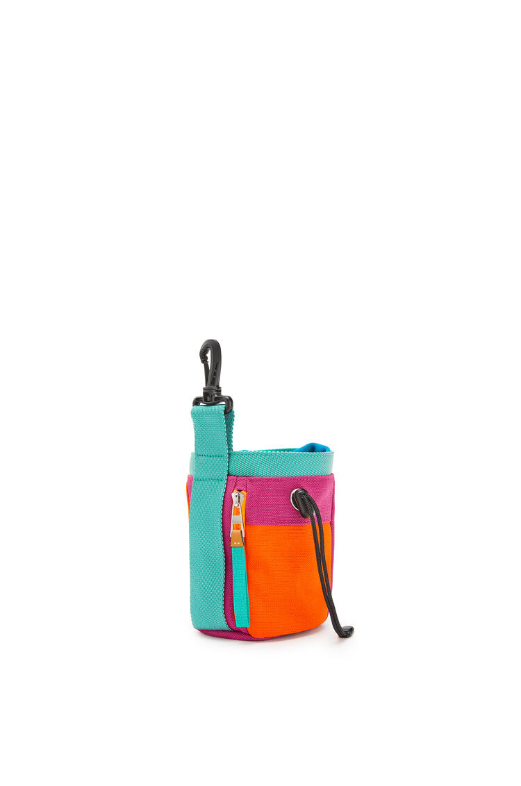 LOEWE Chalk bag in canvas Violet/Orange pdp_rd