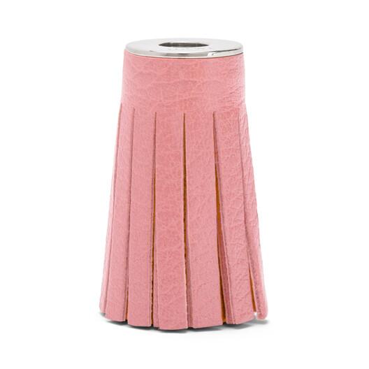 LOEWE Tassel Dice Medium Pink front
