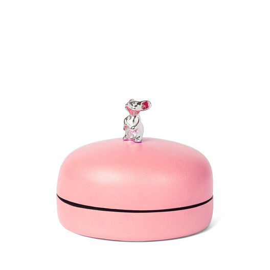 LOEWE Box Mouse Small 淡粉色 front