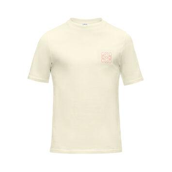 LOEWE Camiseta Anagram Amarillo front