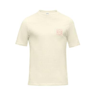 LOEWE Anagram T-Shirt Yellow front