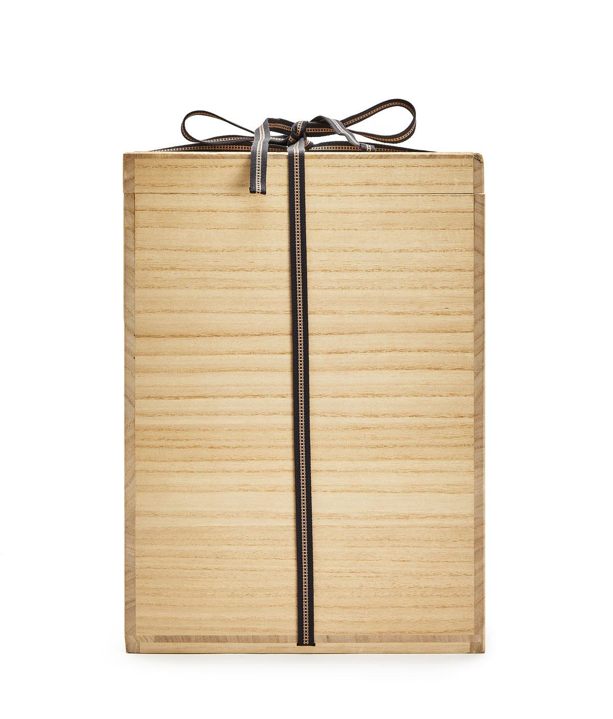 LOEWE Kiribako Box Small Tan front