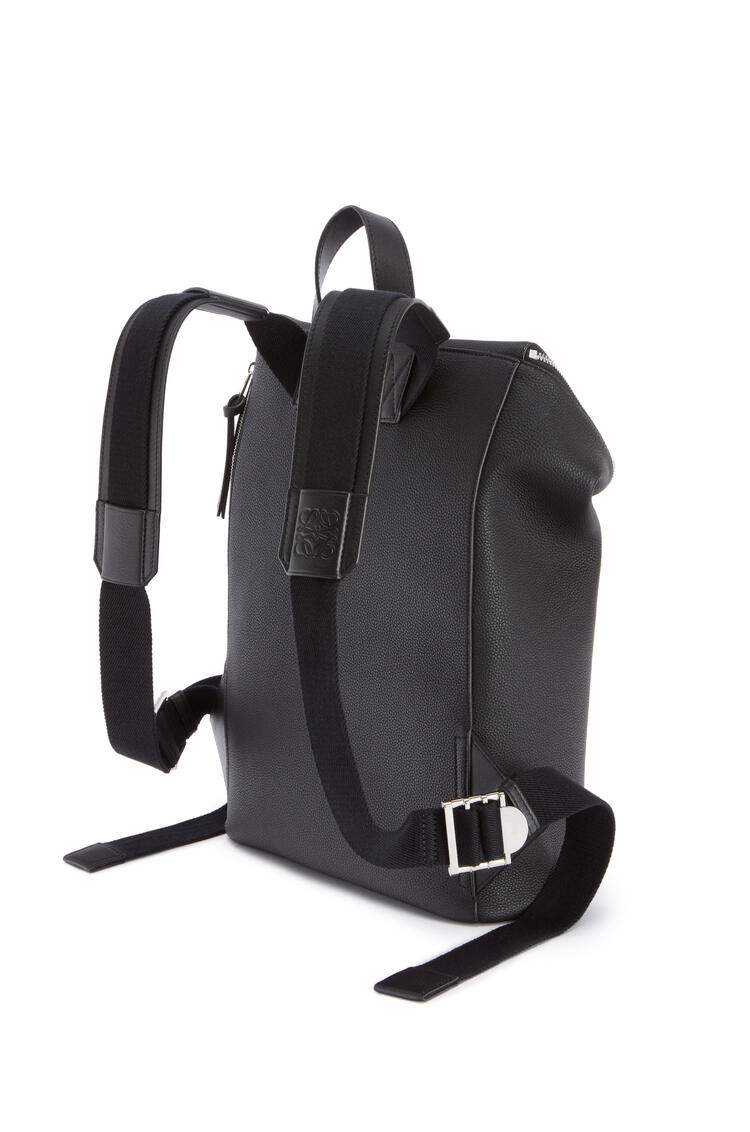 LOEWE Slim Goya Backpack in soft grained calfskin Black pdp_rd
