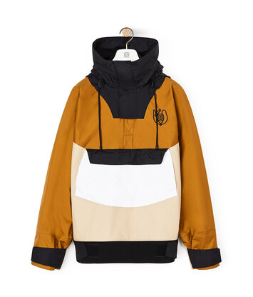 LOEWE Pullover With Hoodie Camel/Beige front