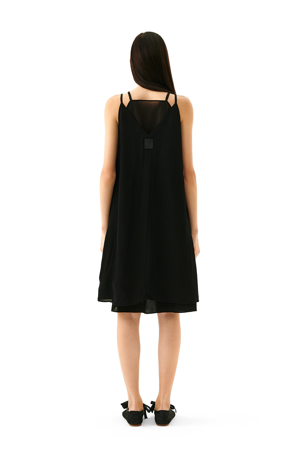 LOEWE Double Layer Dress Negro front