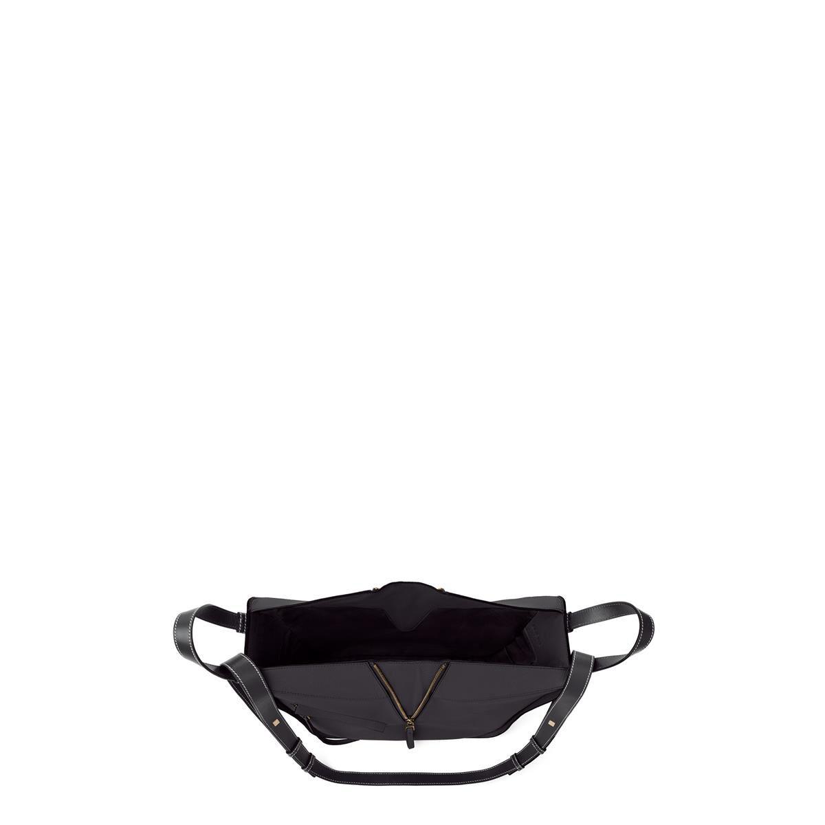 LOEWE ハンモック スモール バッグ ミッドナイトブルー/ブラック all
