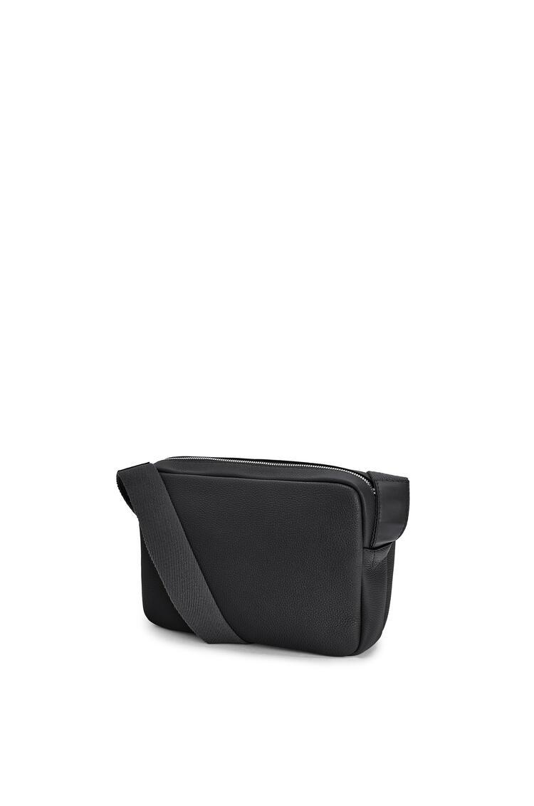 LOEWE Xs Military Messenger Bag In Calfskin Black pdp_rd