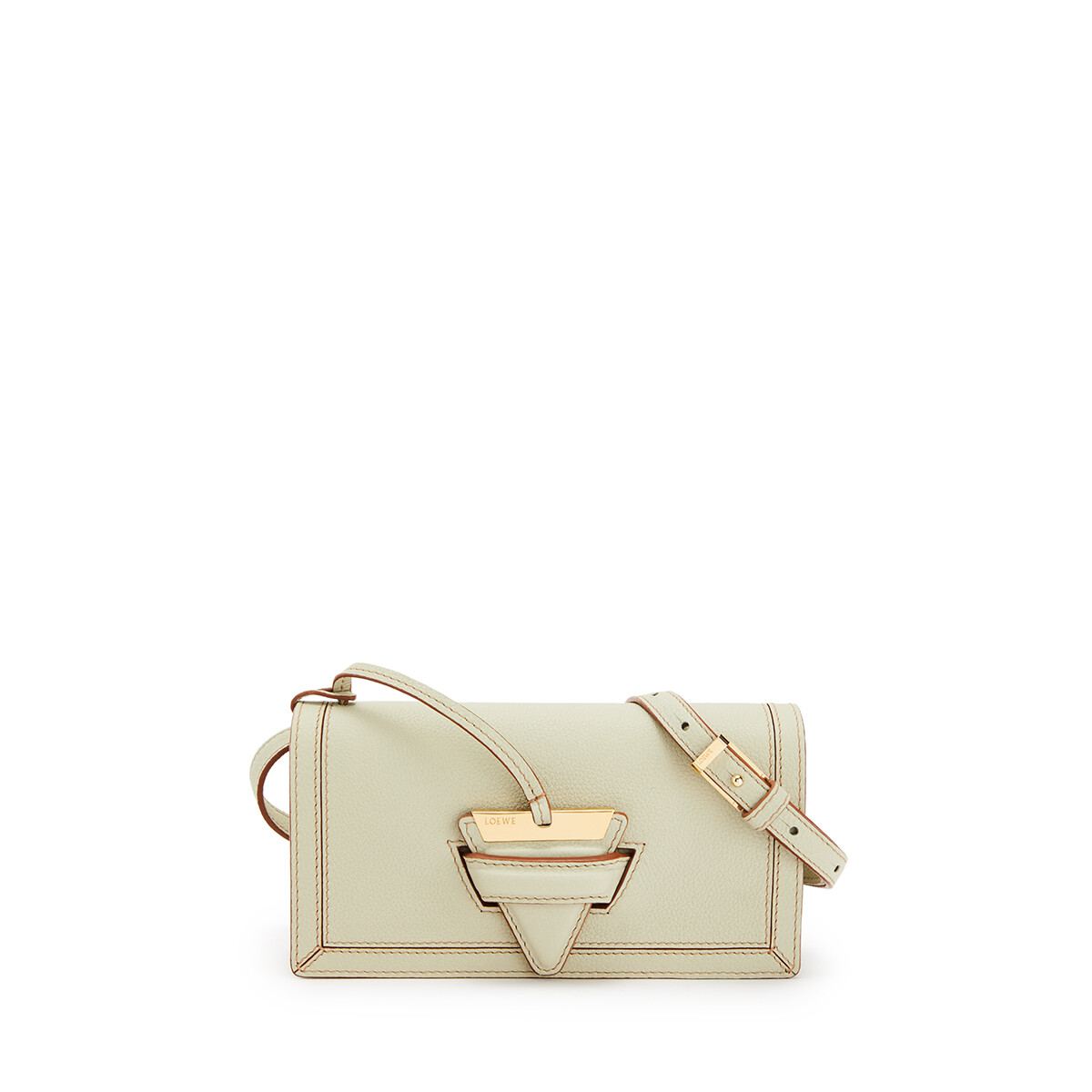 LOEWE Barcelona Soft Mini Bag Sage front