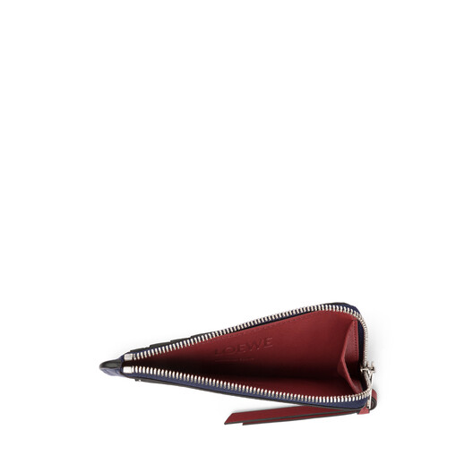 LOEWE Coin Cardholder Large Marine/Brick Red front