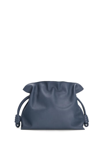 LOEWE Flamenco clutch in nappa calfskin Navy Blue pdp_rd