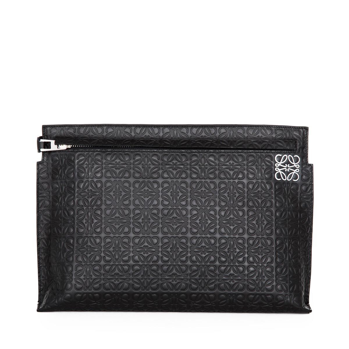 LOEWE T Pouch Black front