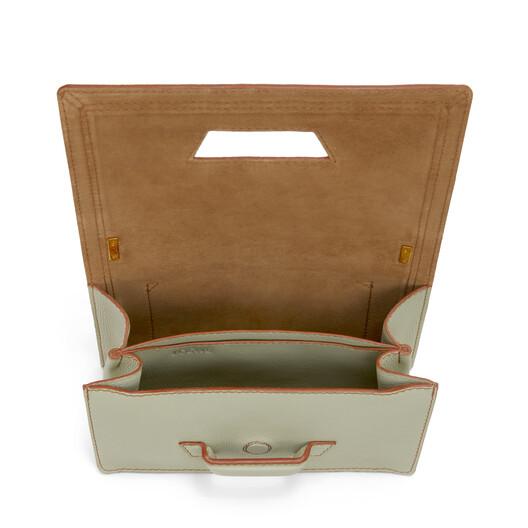 LOEWE Barcelona Soft Bag Sage front