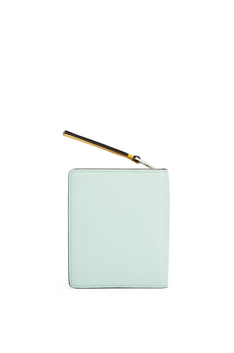 LOEWE La Palme compact zip wallet in classic calfskin Yellow Mango/Multicolor pdp_rd