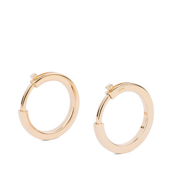 LOEWE Metallic Rings For Strap Gold front