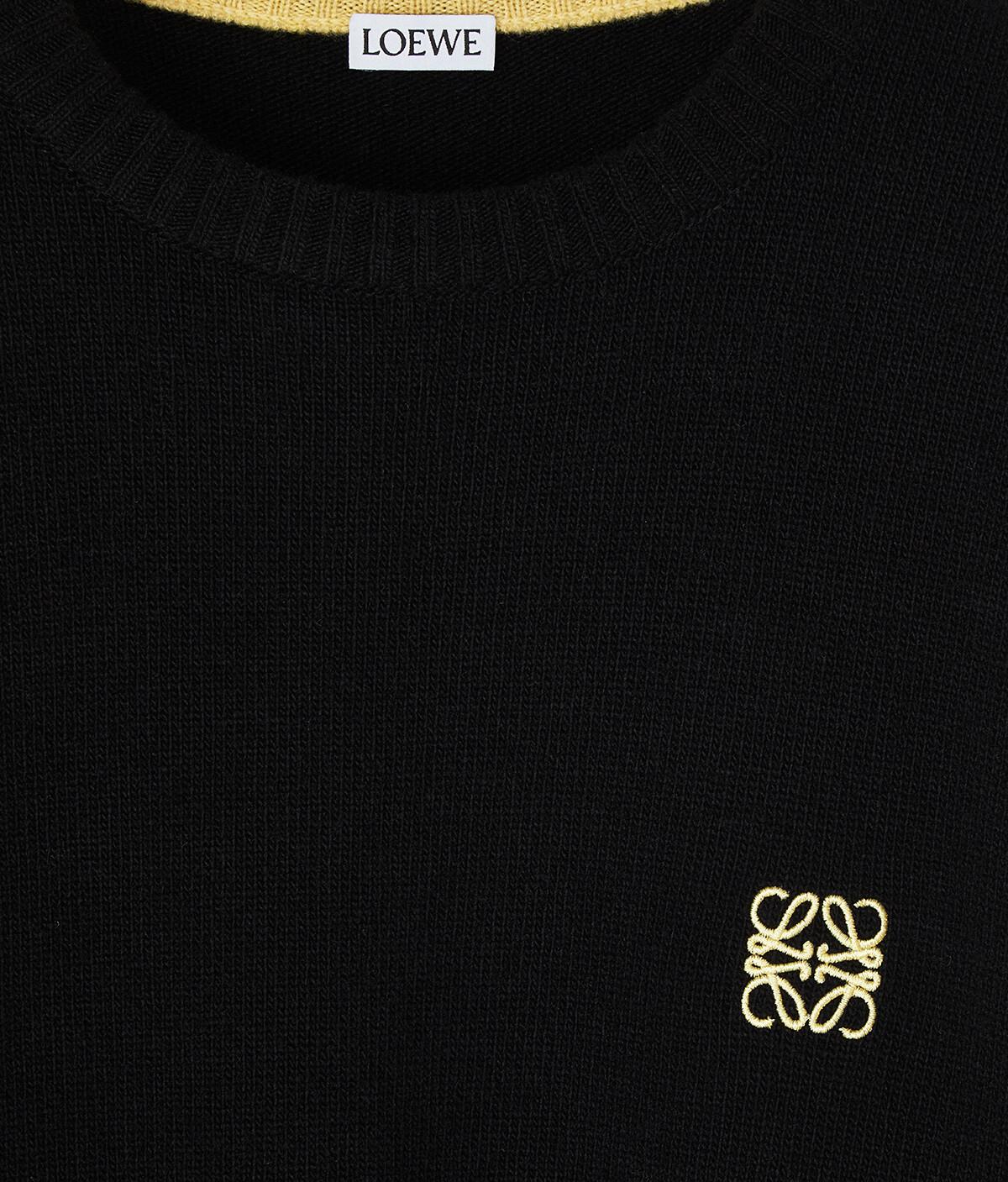 LOEWE Anagram Sweater Negro front