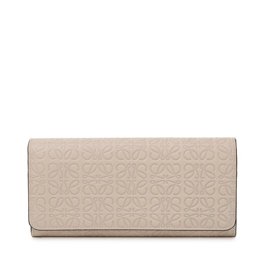LOEWE Repeat Continental Wallet Ivory front