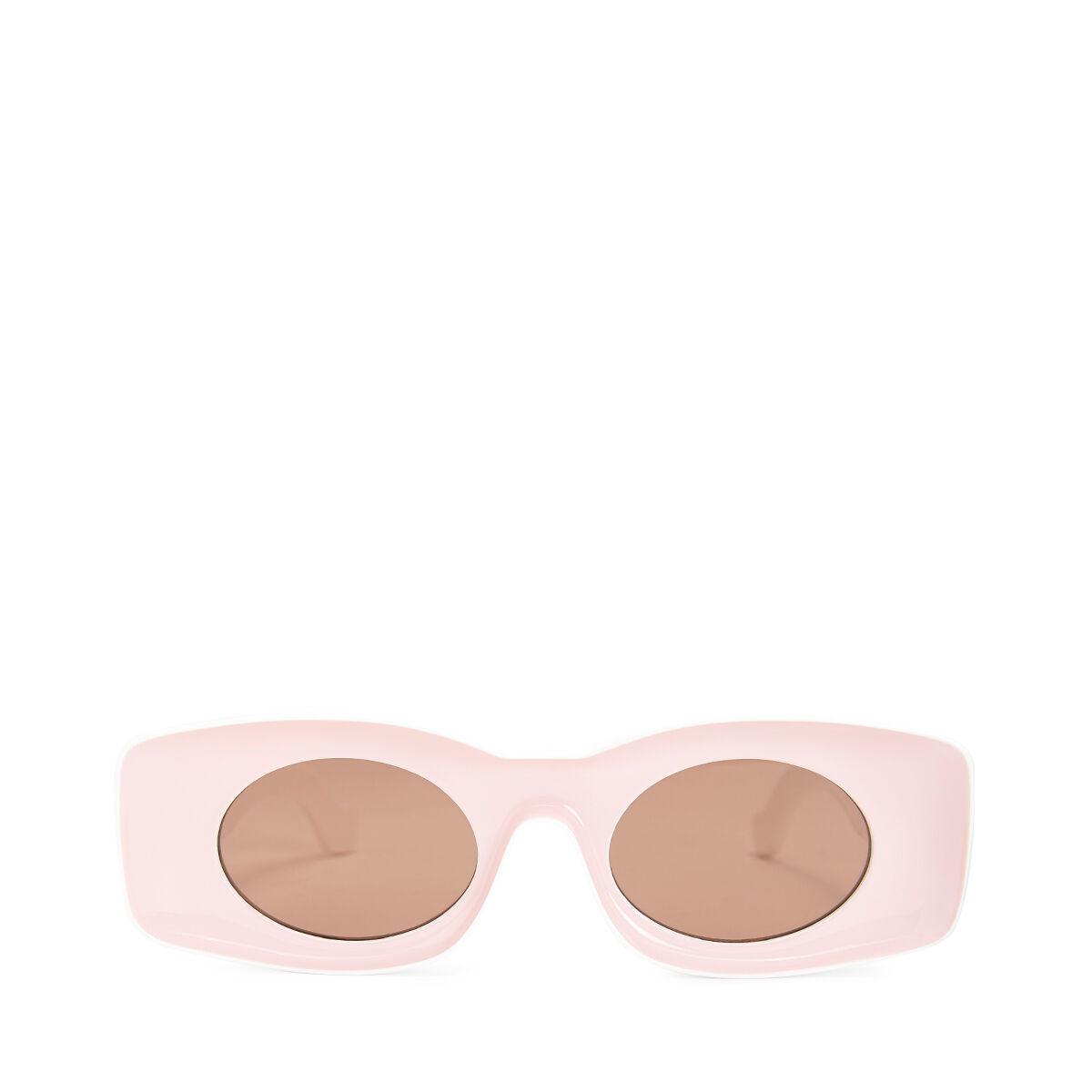 LOEWE Gafas Paula Rosa/Blanco front